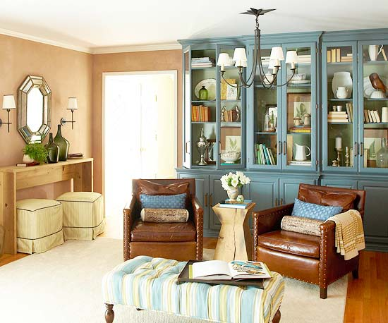 home makeover for living room
